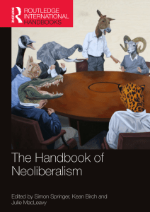 The Commons Against Neoliberalism, the Commons of Neoliberalism, the Commons Beyond Neoliberalism (2016)