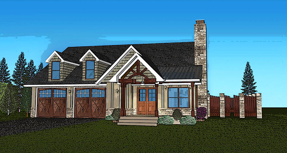 Small Single Story House Plan