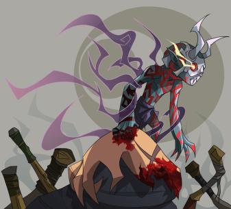 Ghost Samurai Ichiro _Berserk Form