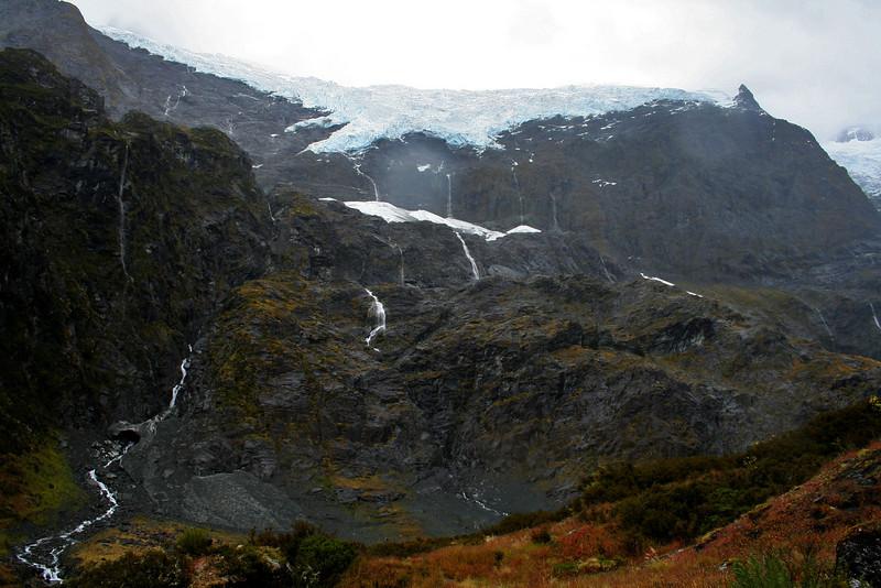 Rob Roy Glacier, Mt Aspiring National Park. South Island