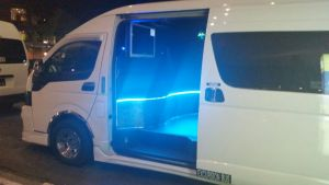Booking Hotline for 13 Seater Minibus