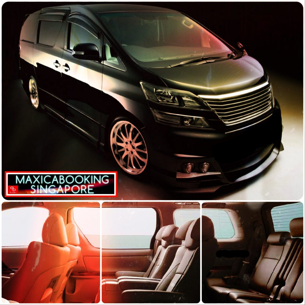 Alphard & Vellfire Booking: Travel Singapore in Comfort and Style