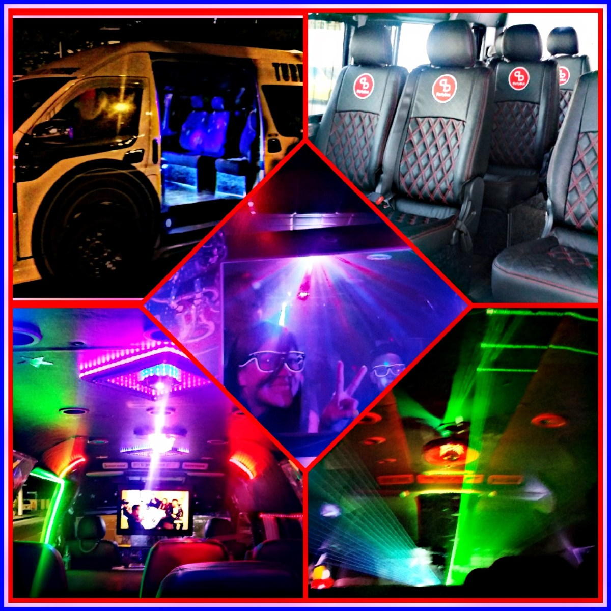 Sing Karaoke in our Premium Party BUS