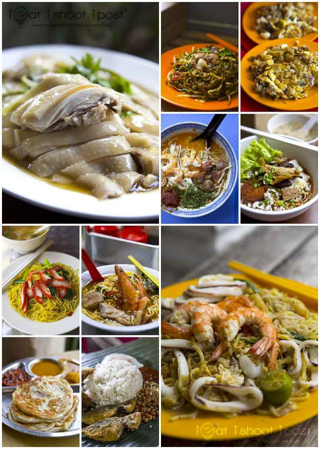Top ten hawker Dishes