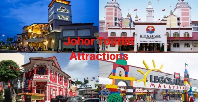 Johor Tourist Attractions 300x155 Transport to Johor Bahru in Malaysia