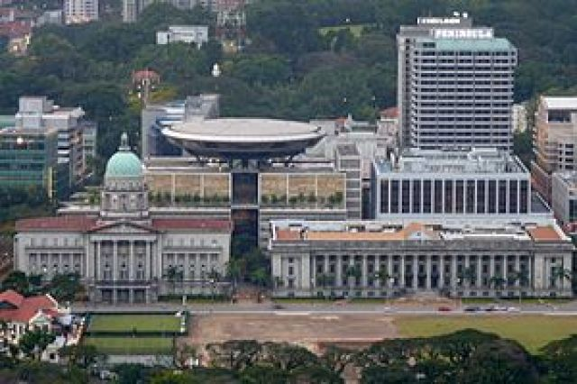 300px Singapore Supreme Court and City Hall aerial view 300x200 City Hall in Singapore