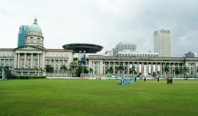 Singapore Cricket Club Singapore 1 300x176 Padang in Singapore