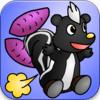 スカンク空中遊泳ゲーム「Go!Go!スカくん!!」がリリースされました!