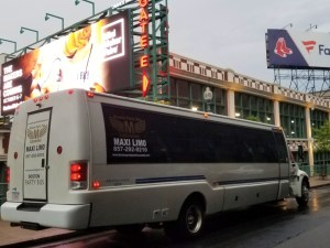Fenway Park - Red Sox Party Bus Rental