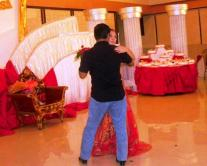 A dance with my niece on her debut party.