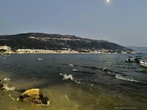 Вечерние море
