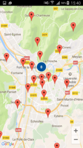 Google Map Android Clustering Markers