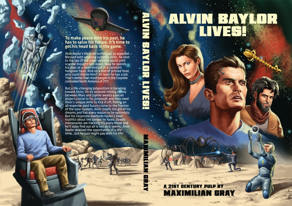 'Alvin Baylor Lives!' Cover