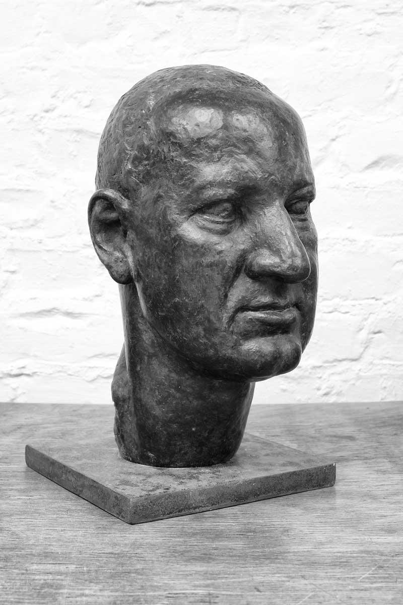 Portrait Stefan Adler, entworfen und gestaltet von Maximilian Klinge