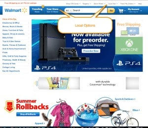 Essential SoLoMo Tools and How Walmart is SoLoMo SoLoMo  WalMart-Home-Local-callout-300x260