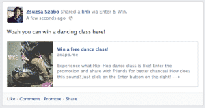 7 Essential Functions for Viral Facebook Contests Facebook Social Media Contests  sharing-300x158