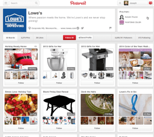 How Lowe's Is Creating an Engaging Customer Experience SoLoMo  Lowes8-300x267