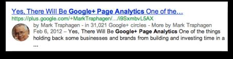 google-page-analytics-result