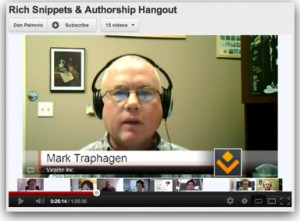 How to Use Google Plus for Personal Branding and Establishing Author Rank Personal Branding Google Plus  google-rich-snippets-authorship-video-300x221