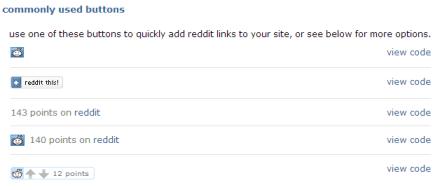 reddit buttons