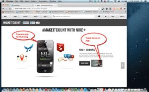 SoLoMo Best Practices - Nike Case Study SoLoMo  MakeItCount-300x187