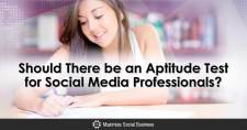 Should There be an Aptitude Test for Social Media Professionals?