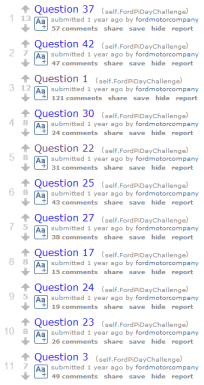 7 Examples of Successful reddit Marketing Reddit  ford-pi-days-questions