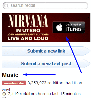 reddit ad music
