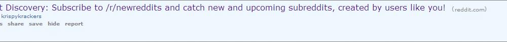 reddit frontpage sponsored ad
