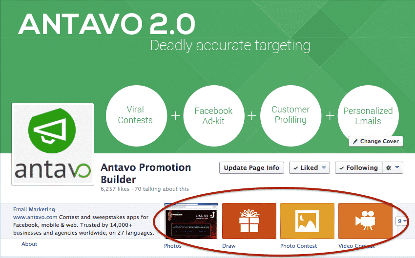 Antavo viral contests sweepstakes