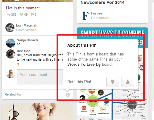 6 New Pinterest Features: Is Your Business Leveraging Them? Pinterest  Related-Pins-screen-shot1