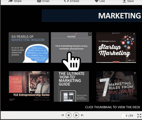5 Tips for Awesome Slideshare Content Inspiration SlideShare  slideshare-content-02