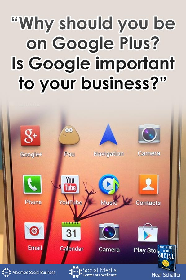 My Top 25 Social Media for Business Quotes Social Media Quotes  why-should-you-be-on-googleplus-600x900-100k