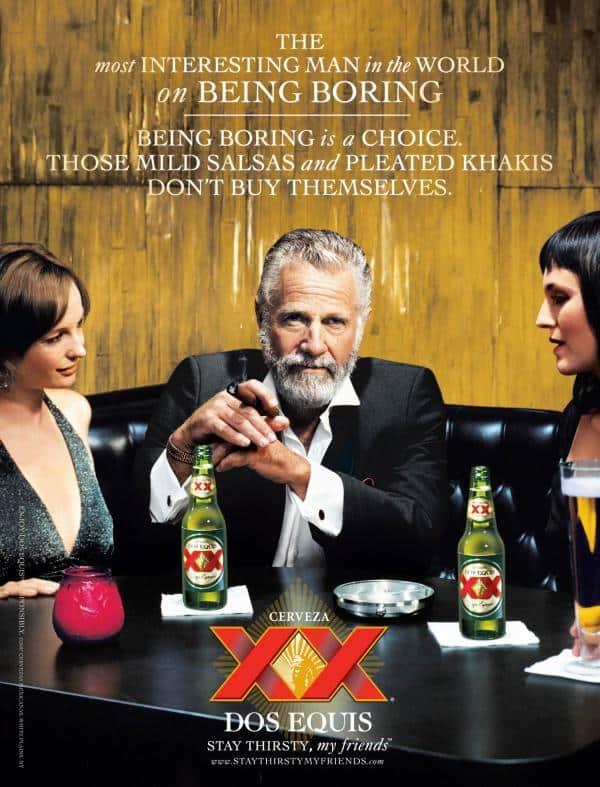 3 Step Visual Marketing Plan You Can Use Today Visual Social Media Marketing  dos-equis-beer-being-boring-small-80198