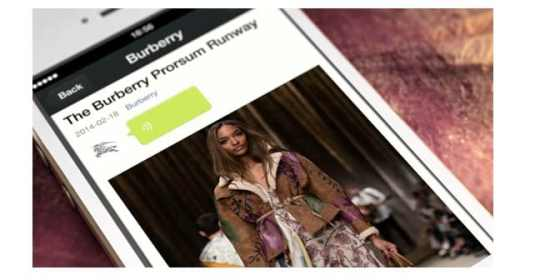 10 Tips to Market Your Brand on WeChat Chinese Social Media  Burberry-wechat