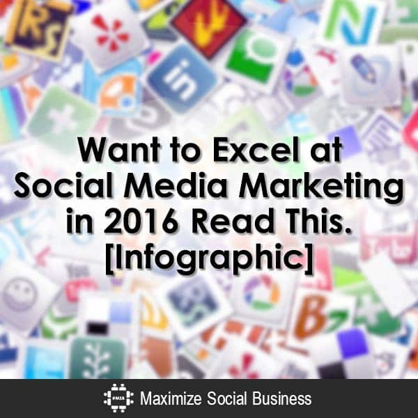 Want to excel at social media marketing in 2016? Read this. #infographic