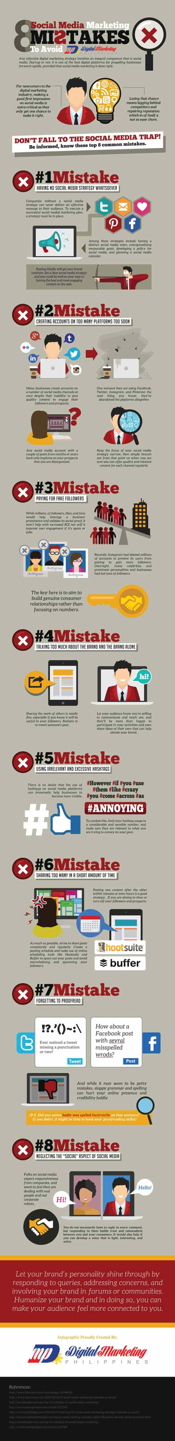 Is Your Business Making Any of These 10 Social Media Mistakes? Social Media Marketing  8-Social-Media-Marketing-Mistakes-to-Avoid