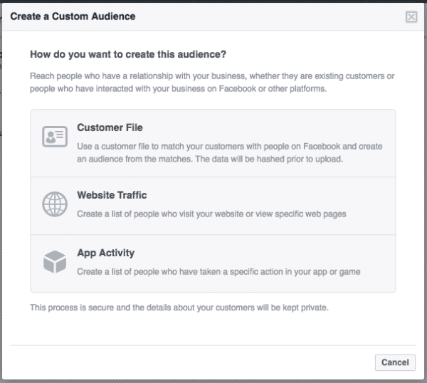 Facebook Canvas Is the New Way To Advertise Facebook  facebook-canvas-audience-selection-600x538