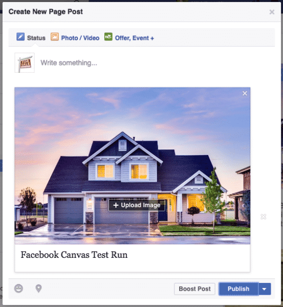 Facebook Canvas Is the New Way To Advertise Facebook  facebook-canvas-post-553x600