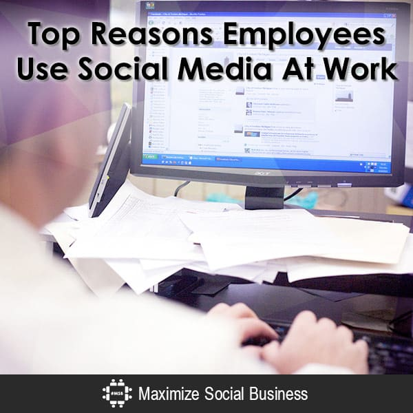 Top Reasons Employees Use Social Media At Work Social Media and Employment Law  Top-Reasons-Employees-Use-Social-Media-At-Work-600x600-V1