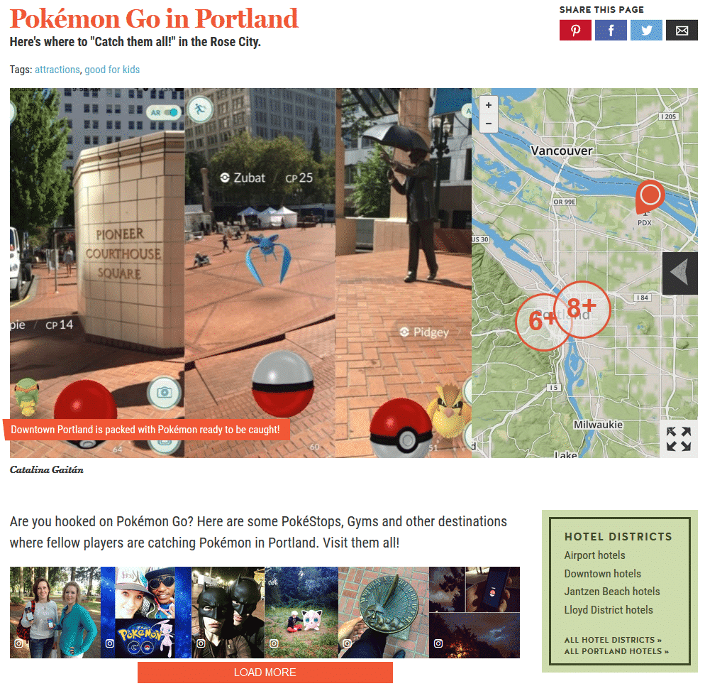 7 Ways the Hospitality Industry is Embracing Pokémon Go Social Media for Hospitality  pokemonportland
