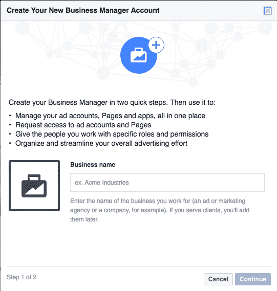 Facebook Business Manager - Do You Need It? Facebook  facebook-business-manager-create-new-business-manager-account