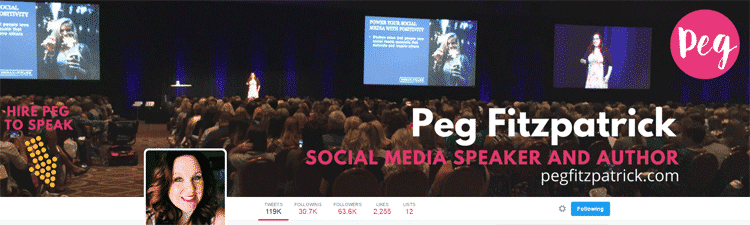 How to Optimize Your Twitter Profile Page – The Jab, Jab Right Hook Approach Twitter  peg-fitzpatrick-cover-photo