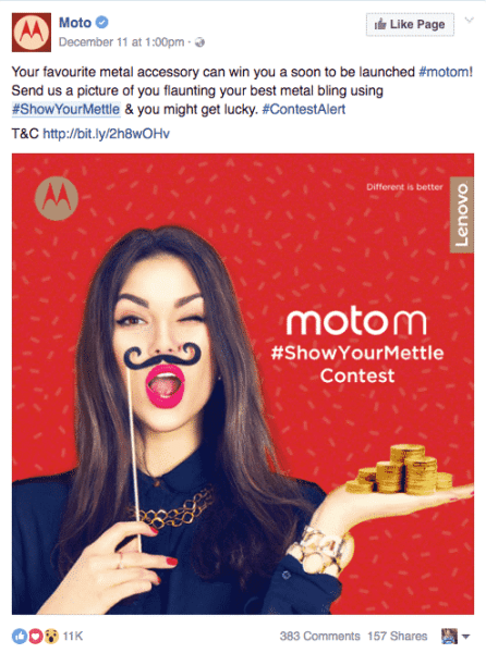 Motorola contests