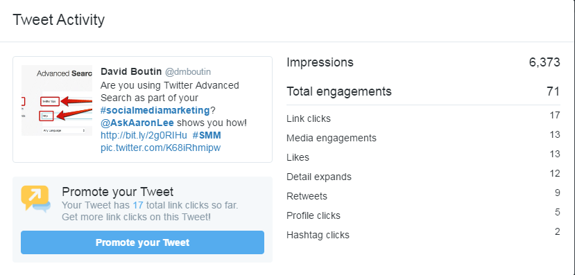 How to Get More Engagement on Twitter - 3 Elements of an Effective Tweet Twitter  how-to-get-more-engagement-on-Twitter-advanced-search-post-analytics