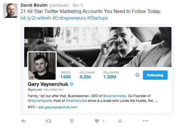 How to Get More Engagement on Twitter - 3 Elements of an Effective Tweet Twitter  how-to-get-more-engagement-on-Twitter-gary-vee-tweet