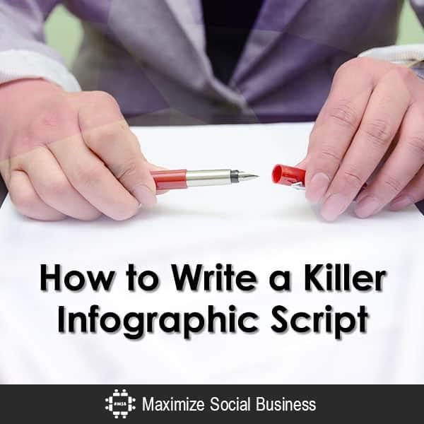 How to Write a Killer Infographic Script Infographics  How-to-Write-a-Killer-Infographic-Script-600x600-V2