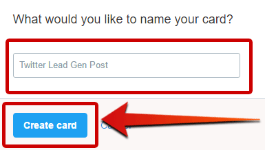 How to Send a Tweet with a Clickable Image Twitter  finish-creating-twitter-website-card