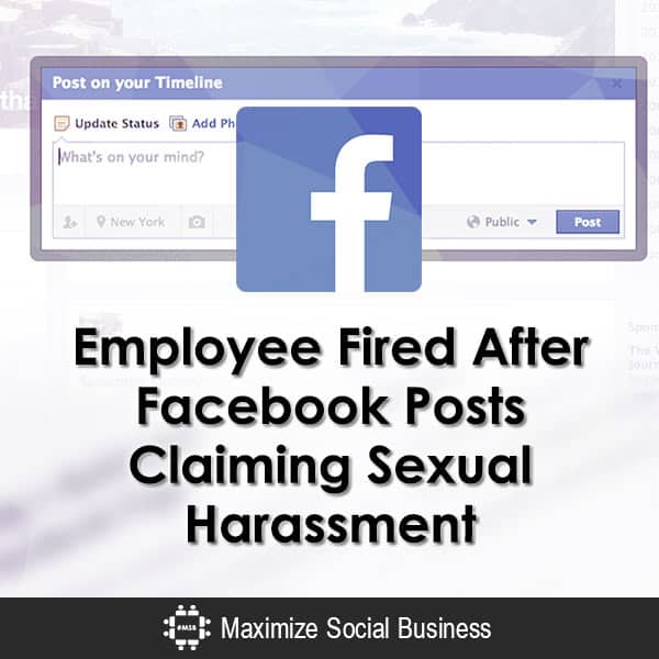Post sexual harassment