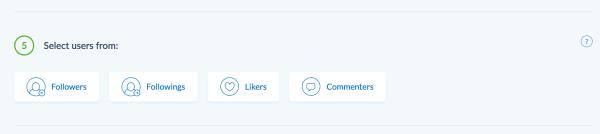 instaplus instagram following tool choose follower source